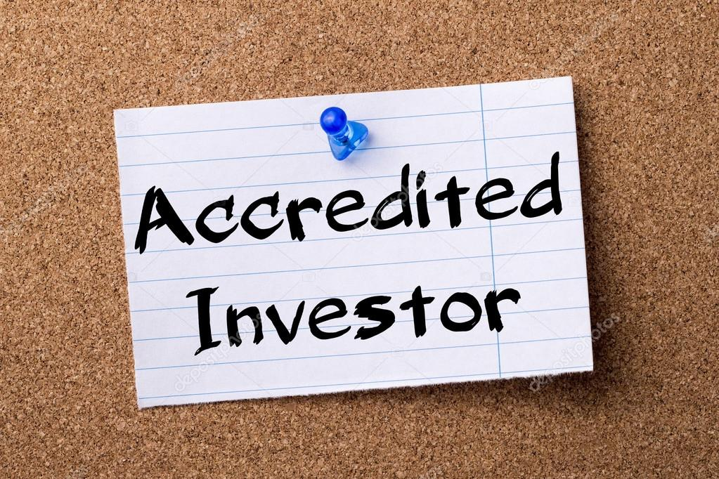 Image result for accredited investor