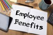 Employee Benefits - Note Pad With Text