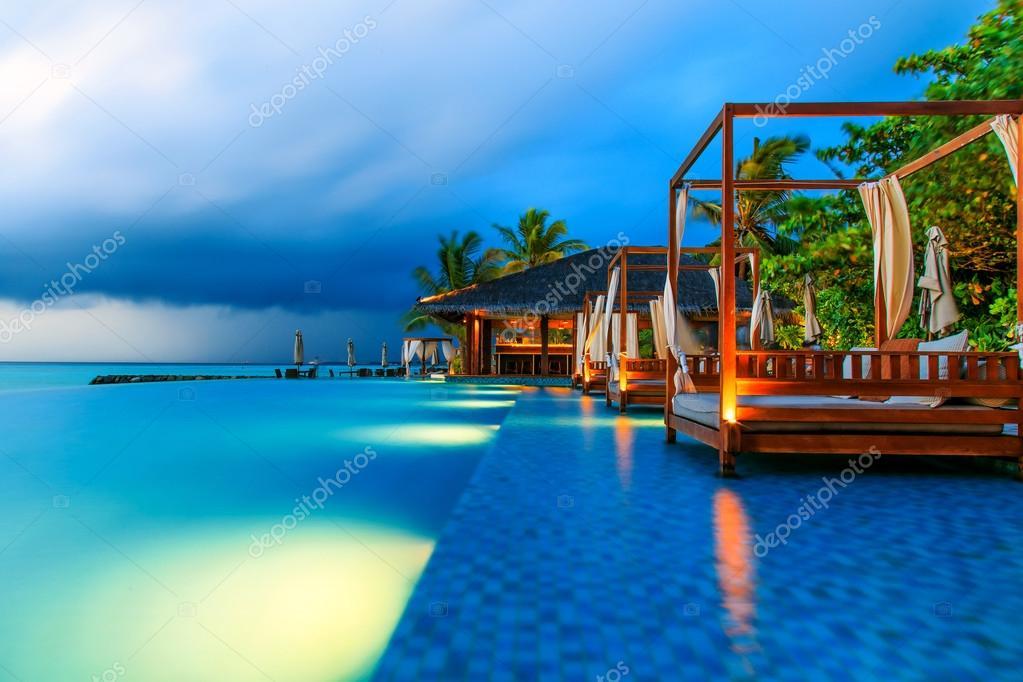 Images Maldives Resorts The Maldives Scenery Stock