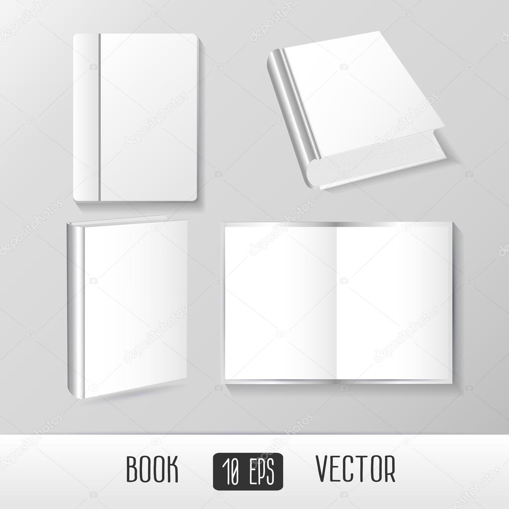 Bücher, Zeitschriften-Vorlagen-Set — Stockvektor © phoenix_olga ...