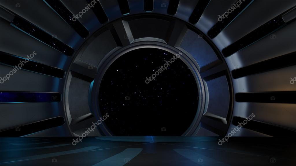 Space environment, ready for comp of your characters.