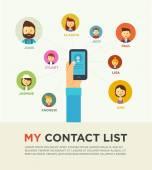 Fotografia Social Networking persone concettuale