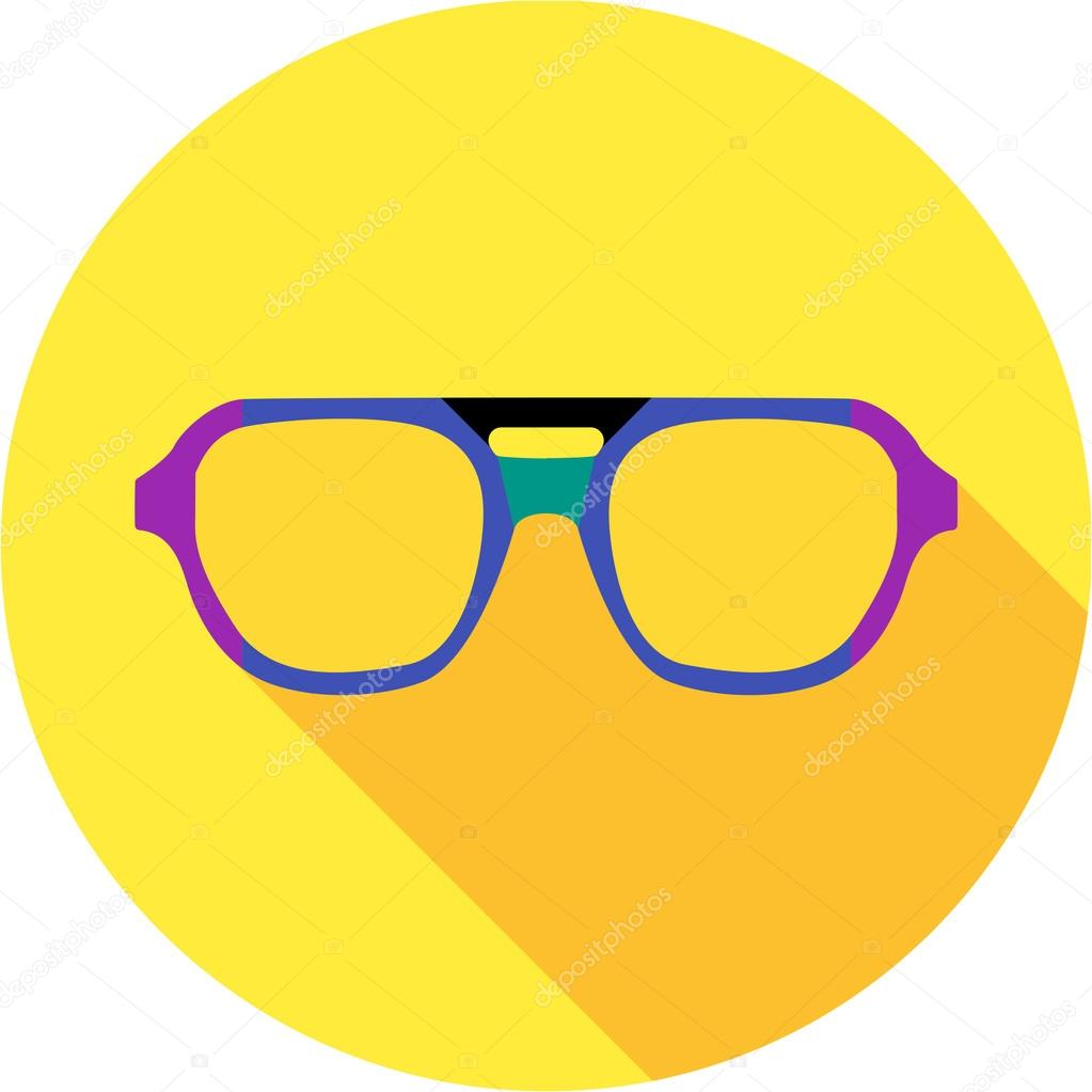 super hero mask glasses collection flat style avatar icon stock