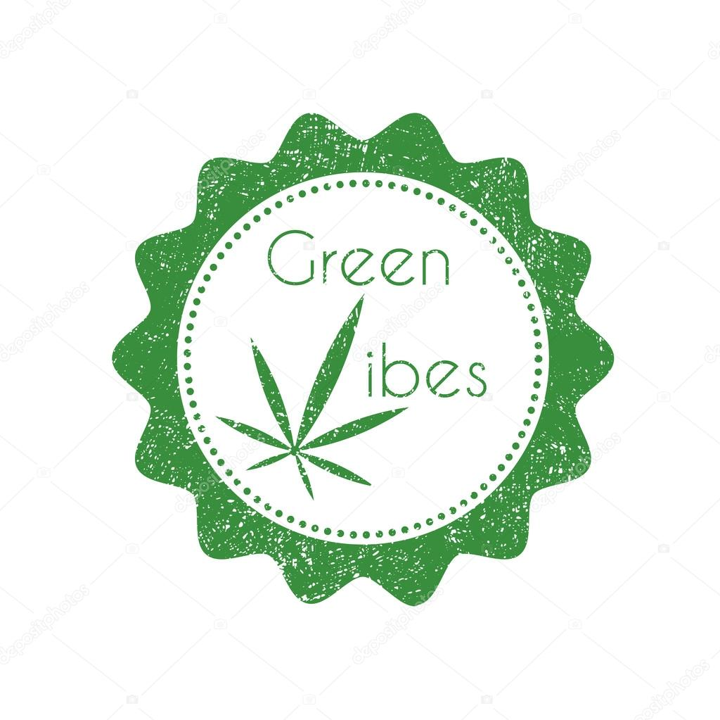 Marijuana badge