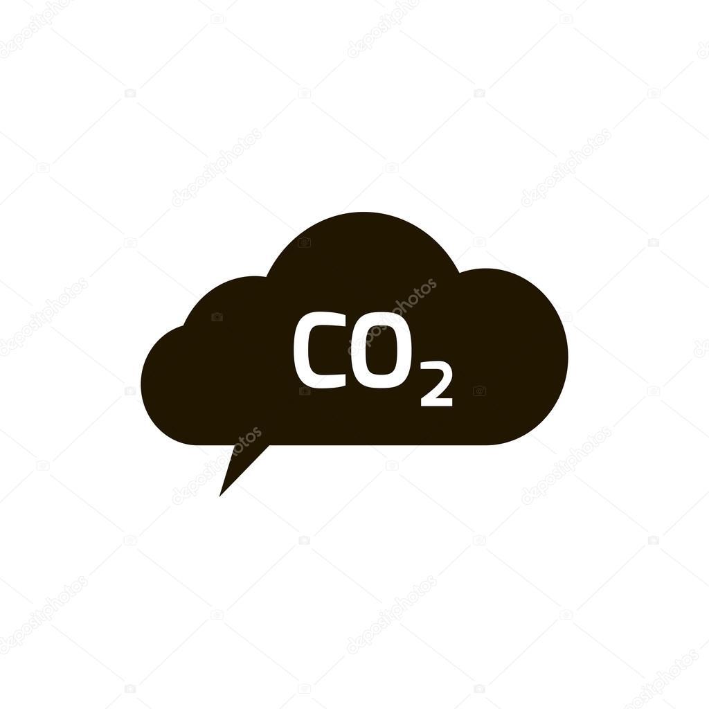 Co2 emissions icon cloud vector flat carbon dioxide emits symbol co2 emissions icon cloud vector flat carbon dioxide emits symbol stock vector buycottarizona Images