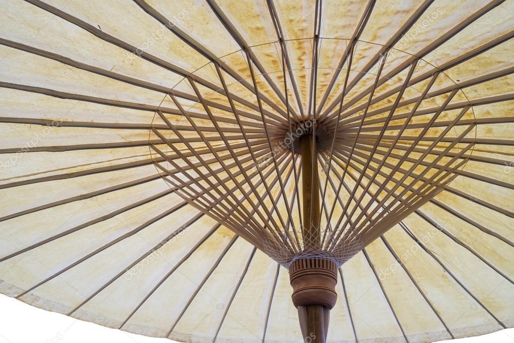 comprar bien genuino mejor calificado niño Paraguas madera tradicional tailandés aislado - underview ...
