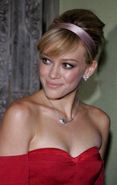 Actress Hilary Duff