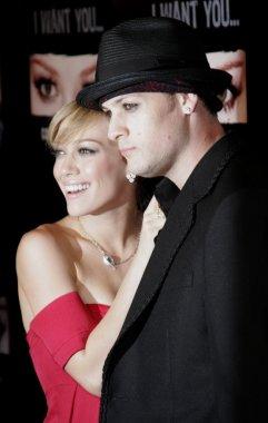 Hilary Duff and Joel Madden
