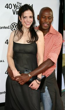 Mary Louise Parker and Romany Malco