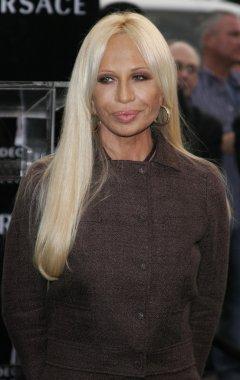 fashion designer Donatella Versace