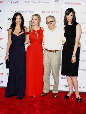 Penelope Cruz, Scarlett Johansson, Woody Allen, Rebecca Hall
