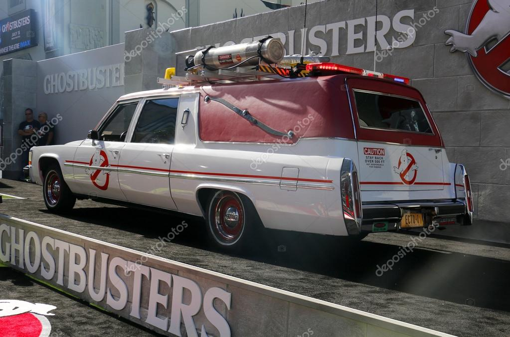 ghostbusters car ecto 1 stock editorial photo. Black Bedroom Furniture Sets. Home Design Ideas