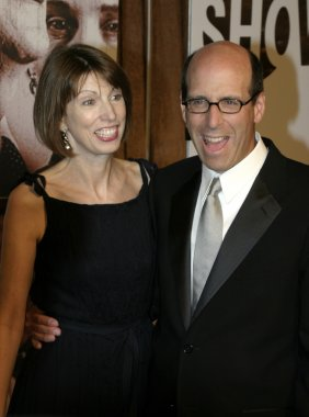 Matt Blank and wife Susan at the 56th Annual Primetime Emmy Awards - Showtime After Party held at the Mortons in Beverly Hills, USA on September 19, 2004.