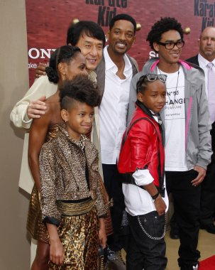 Jackie Chan and Will Smith family