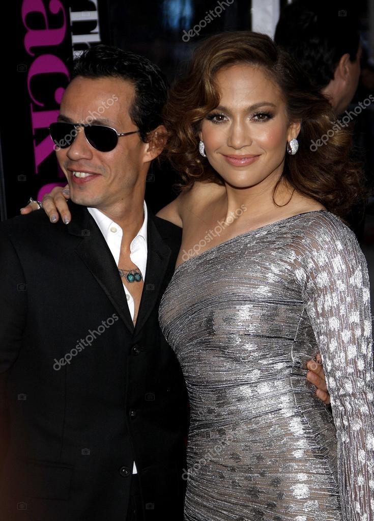 Stock Editorial Photo: Marc Anthony, Jennifer Lopez
