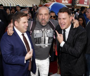 Peter Stormare, Channing Tatum and Jonah Hill