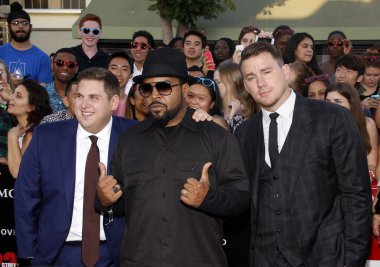 Channing Tatum, Ice Cube and Jonah Hill