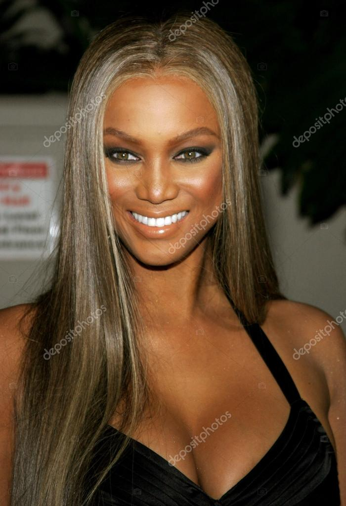model tyra banks stock editorial photo popularimages 78969924