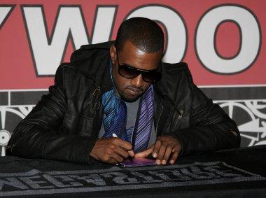 rapper Kanye West