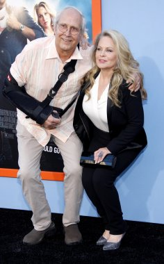 Chevy Chase and Beverly D'Angelo at the Los Angeles