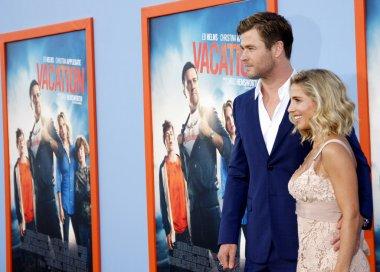 Chris Hemsworth and Elsa Pataky at the Los Angeles