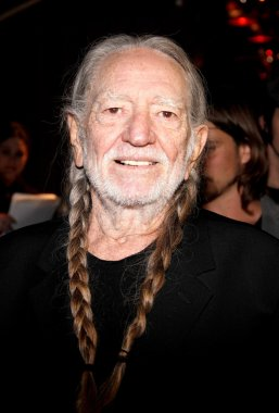 HOLLYWOOD, CA, USA - FEBRURY 20, 2013: Willie Nelson at the Global Green USA's 10th Annual Pre-Oscar Party held at the Avalon in Los Angele