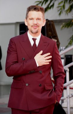 Ethan Hawke Hand And Footprint Ceremony