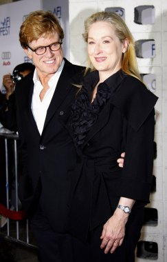 Robert Redford and Meryl Streep
