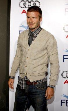 soccer player David Beckham