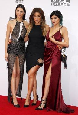 Khloe Kardashian and Kylie Jenner