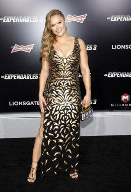 Athlete Ronda Rousey