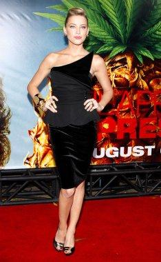 Amber Heard in Westwood
