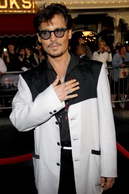 Johnny Depp at Los Angeles