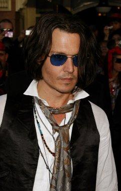 Johnny Depp at Los Angeles