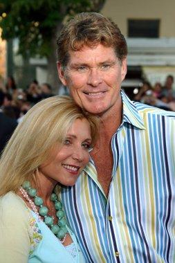 David Hasselhoff and Pamela Bach Hasselhoff