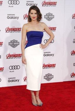 Cobie Smulders at Los Angeles
