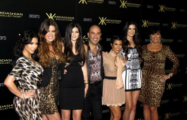 Bruno Schiavi, The Kardashians and Jenner family