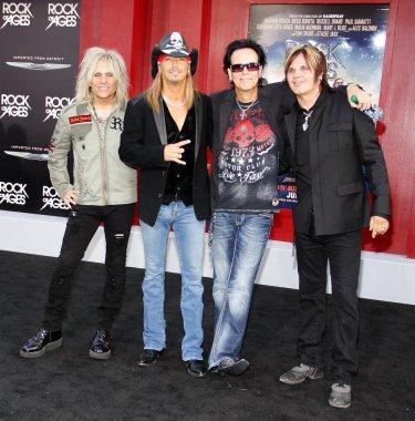 C.C. Deville, Bret Michaels, Rikki Rockett and Bobby Dall