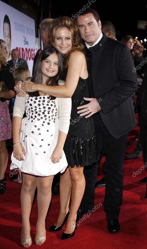 John Travolta and Ella Bleu Travolta