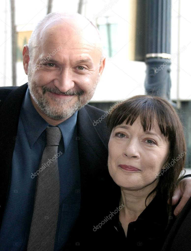 Frank Darabont and Niki Marvin