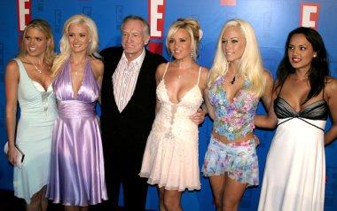 Holly Madison, Kendra Wilkinson, Hugh Hefner and Bridget Marquardt