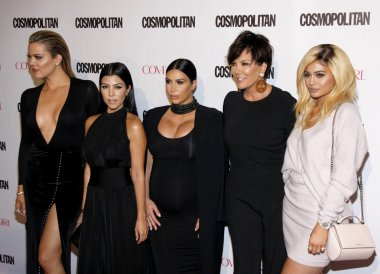 Kardashian and Jenner family