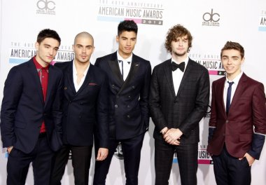 Music group The Wanted