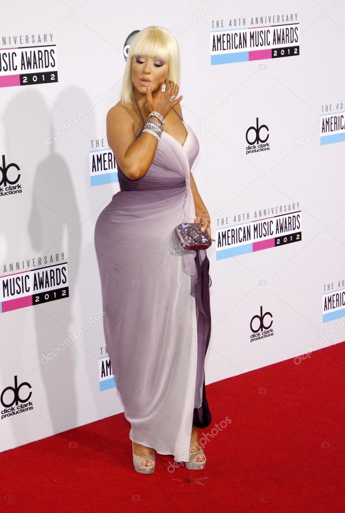 Christina Aguilera uit 2012