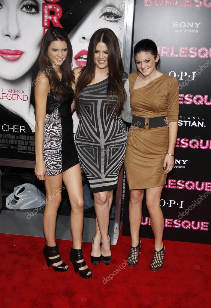 Kendall Jenner, Khloe Kardashian y Kylie Jenner — Foto ...