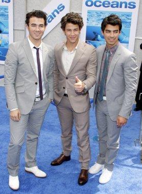Nick , Kevin and Joe Jonas
