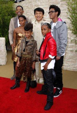 Jackie Chan and Smith family