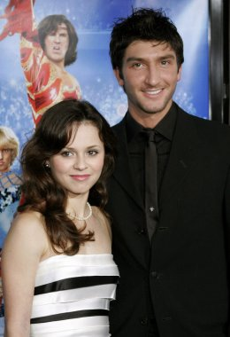 Sasha Cohen and Evan Lysacek