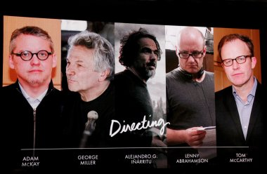 Best directing nominees