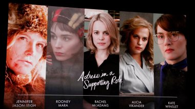 Actresses in a supporting role nominees